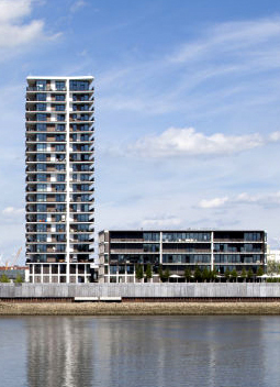 Landmark Tower Rempinski Werbedruck