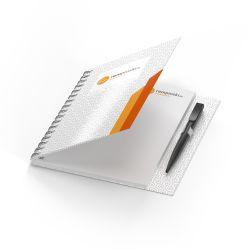 Wire-O Blöcke im Hardcover mit Clip