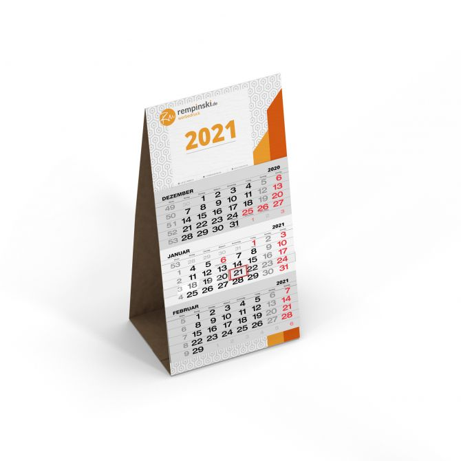 Tischkalender Hochformat