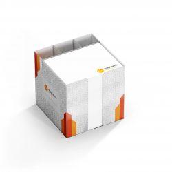 Zettelbox mit Fächern