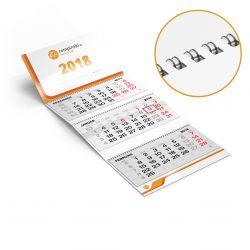 3-Monatskalender Wire-O